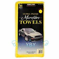 Kirkland Signature Ultra Plush Microfiber Towels Auto Home 36 Pack