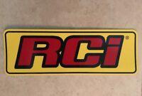 "1 Pcs RCI RACING STICKER / DECALS Size 10 1/4"" X 3.5"""