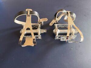 mks sylvan pedals, clips & straps