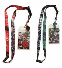 DC Comics Mad Love Lanyard Bundle with Harley Quinn and the Joker
