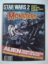 FAMOUS MONSTERS STAR WARS 2 THE EMPIRE STRIKES BACK  ENGLISH MAGAZINE # 156 1979