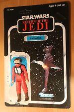 1983 Vintage B-Wing Fighter Pilot w 77 back card Star Wars KENNER return of jedi