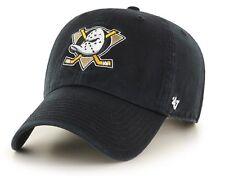 Anaheim Mighty Ducks 47 Brand NHL Strapback Adjustable Dad Cap Hat Clean Up