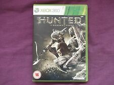xbox 360 HUNTED DEMONS FORGE game.