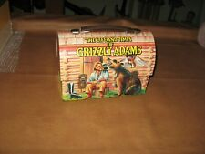 Vintage 1977 Grizzly Adams Dome Metal Lunchbox and Thermos / Very Nice