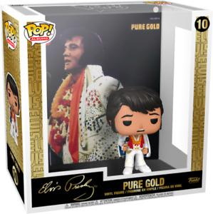 PURE GOLD ELVIS PRESLEY EXCLUSIVE FUNKO POP VINYL ALBUMS COVER #10 PRE ORDER