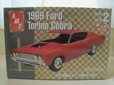 AMT - 1969 FORD TORINO COBRA - MODEL KIT (SEALED)