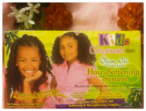 Kids Originals Olive Oil Ultra-Gentle Hair Softening System - Australia Stock