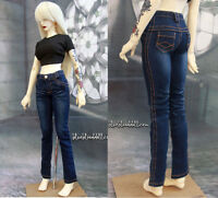 1/3 BJD 56-58cm SD13 girl doll clothes outfit blue wash jeans dollfie luts GenX