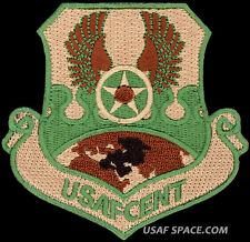 USAF CENTRAL COMMAND - Shaw AFB, SC - AIR FORCE ORIGINAL VEL MULTICAM PATCH