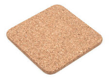 4 x Square Cork Coasters Hot Pot Pan  Pads  Placemats Mats  SYDNEY