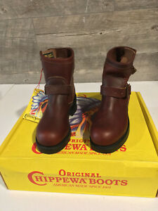 "Chippewa 7"" Womens Engineer Boot - Steel Toe - Made in USA"