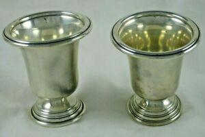 """Vtg International Silver Sterling 2 Berkeley Toothpick Holders NH14 Bag 3"""""""