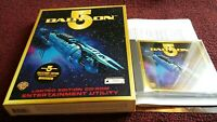 BABYLON 5 CD-ROM ENTERTAINMENT UTILITY PC COLLECTOR'S EDITION BIG BOX PC GAME