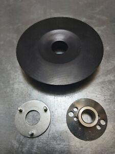 M14 115mm Angle Grinder Plastic Backing Pad for Abrasive Sanding Fibre Grit Disc