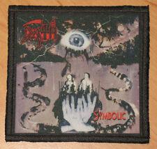 "DEATH ""SYMBOLIC"" silk screen PATCH"