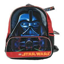"Star Wars LEGO Darth Vader's Tie-Fighter Boys School Backpack 16"" NWT New"