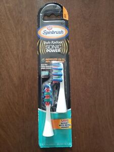 NEW ARM & HAMMER SPINBRUSH TRULY RADIANT SONIC POWER REPLACEMENT BRUSH HEADS