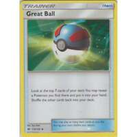 Great Ball 119/149 Sun & Moon Base Uncommon Trainer Card (x4 Cards, Playset)