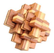 casse tete en bois bambou, modèle PineApple, difficulté 5 etoiles