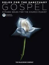 Solos for the Sanctuary - Gospel: 8 Piano Solos for the Church Pianist, Austin,