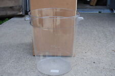 Carlisle Storplus 8 Qt. Round Container 1076607 Polycarbonate Lot Of 2 New