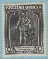 BRITISH GUIANA 221 MINT HINGED OG * NO FAULTS EXTRA FINE !