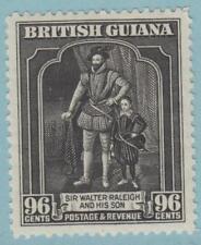 BRITISH GUIANA 221 MINT HINGED OG * NO FAULTS EXTRA FINE !