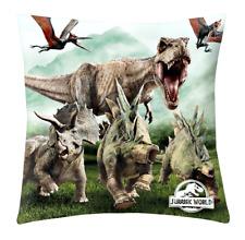 Jurassic World Cuscino Morbido Poggiatesta Decorativo 40x40 Dino