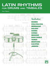 Latin Rhythms for Drums and Timbales; Reed, Ted, ALFRED - 17312