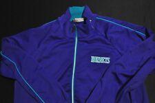 CHARLOTTE HORNETS Mitchell & Ness NBA NWC Warmup Track Jacket Purple MEN'S 4XL