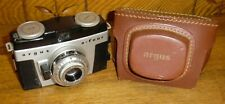 Vintage Argus A-Four Camera & Case