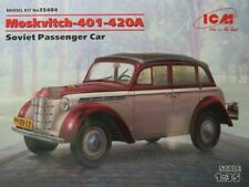 ICM Typ Moskvitch-401-420 A Saloon,Soviet,Bausatz Kit,1:35 scale,35484,150 Teile