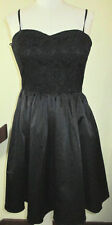 New H & M  sz EU 42  AUS 10 sexy black lace dress, convertable