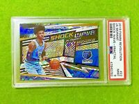 JA MORANT FRACTAL PRIZM ROOKIE CARD GRADED PSA 9 GRIZZLIES 2019-20 Revolution RC