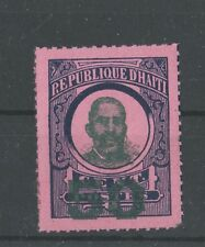 Haiti 1888-1890 Francois Denys Legitime essay, rare local issue, high nominal