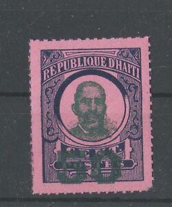 Haiti 1888-1890 Francois Denys Legitime essay, rare local issue, high nominal