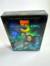 2004 BABYLON 5 science fiction series THE MOVIE COLLECTION five DVDs NEW SEALED