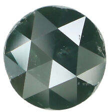 Natural Loose Diamond Green Round Rose Cut I3 Clarity 6.90 MM 1.41 Ct KR890