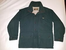 Vintage Remington Outdoor Clothing Mens Small Hunting Jacket Green Pockets Nice!