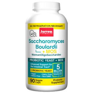 Jarrow Formulas Saccharomyces Boulardii+MOS, 90 VCapsules ,Healthy Digestion