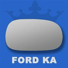 Ford Ka Wing Door Mirror Glass   Right Driver Side Spherical