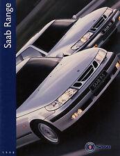 SAAB 900 Convertible Coupe Berlina 9000 brochure 95 9-5 prospetto UK/5