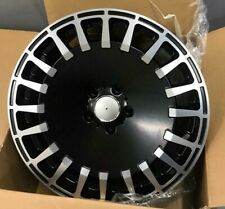 "19""63 black audi vw Mercedes Benz c/e/s class c63 Alloy Wheels Wider Rear tyres"