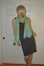 Auth Kate Spade Scarf Shawl Wrap Scarve Colorfull XMAS BDAY Gift 100% modal $128