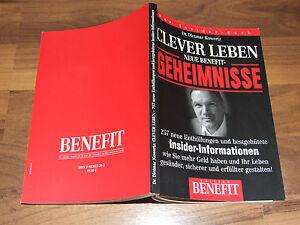 Clever Leben Neue Benefit Geheimnisse Kowertz 257 neue Enthüllungen 2008 Insider