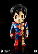 XXRAY x DC COMICS - SUPERMAN DISSECTED VINYL ART FIGURE (10cm) [BRAND NEW]