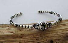 Damen Armreif Silber 925 Jugendstil Keltischer Schmuck Bali Kette Armband
