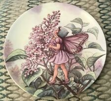 Wedgwood The Lilac Fairy Collectors Plate Flower Fairies Cicely Mary Barker