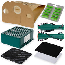 Bürsten 30 Staubsaugerbeutel Tüten geeignet Vorwerk Tiger  251 252 Filterset